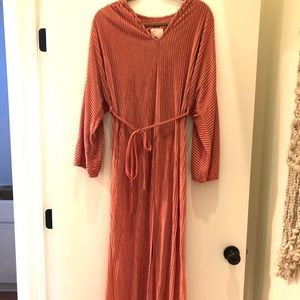 Vintage Ribbed Night Gown